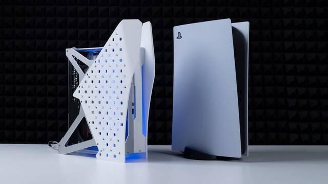 Así es una PS5 con refrigeración líquida
