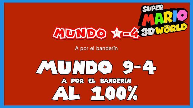 Super Mario 3D World: A por el banderín al 100%