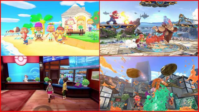 Nintendo Switch más vendidos Japón