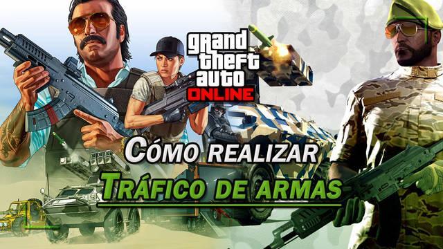 Tráfico de armas en GTA Online: Conseguir suministros para el búnker y venderlos