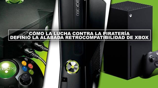 Cómo la lucha contra la piratería definió la alabada retrocompatibilidad de Xbox