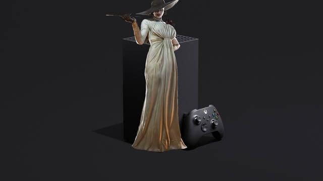 Resident Evil 8 tamaño espacio Xbox Series X/S One