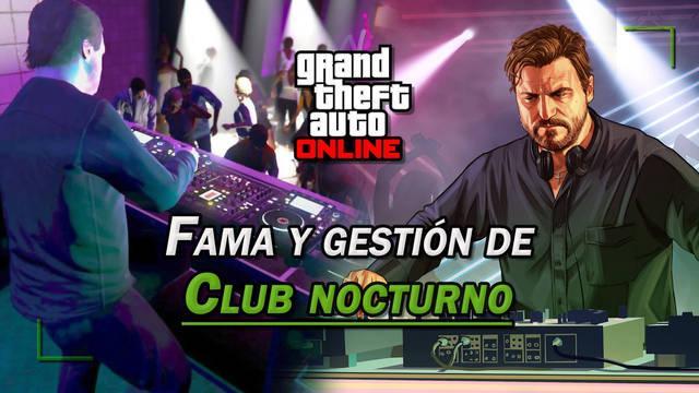 Club nocturno en GTA Online: Cómo activarlo, ganar fama y gestionar el negocio