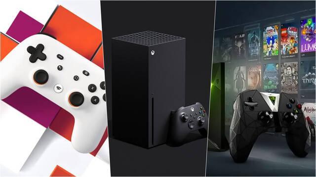 Xbox Series One Edge Stadia GeForce Now