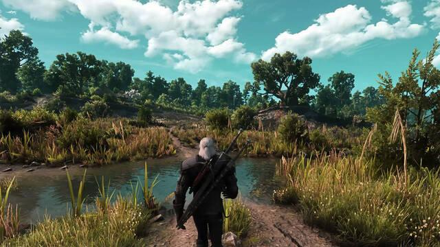 Así luce The Witcher 3 con mods en PC a 8K y ray tracing.