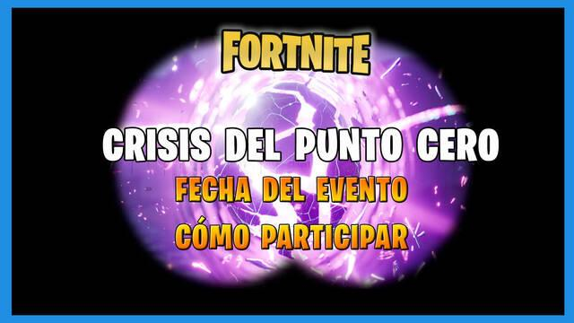 Fortnite: Fecha del evento final