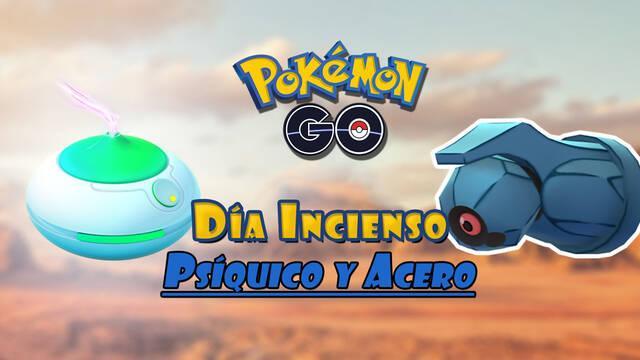 Pokémon GO: Día del Incienso tipo Psíquico y Acero; fechas, bonus y detalles