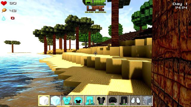 Cube Life: Island Survival llegará también a PS4, PC y Nintendo Switch