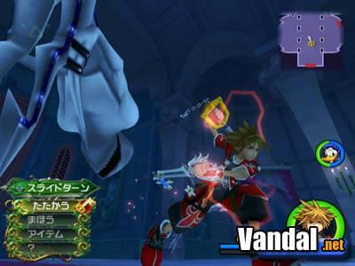 TGS: Nuevas imágenes de Kingdom Hearts 2