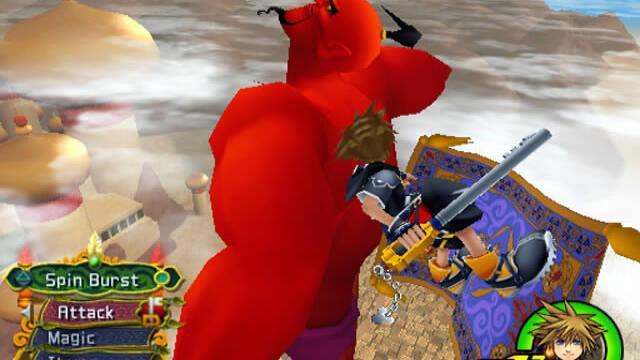 Nuevas imágenes de Kingdom Hearts 2