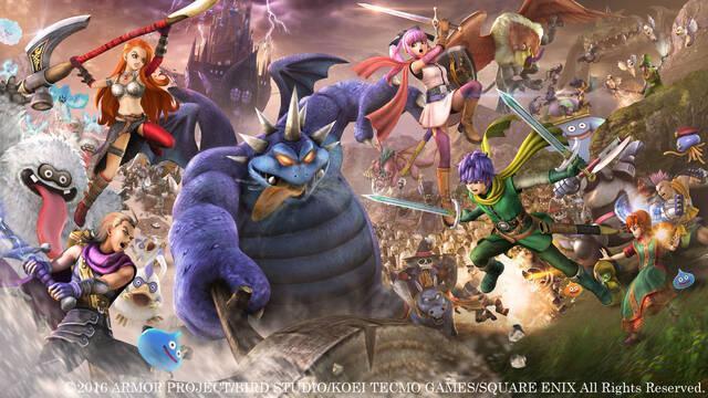 Dragon Quest Heroes II aparece listado en una cadena de tiendas estadounidense