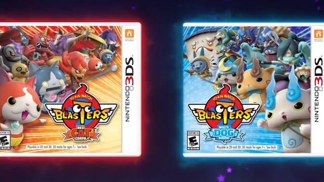 Yo-Kai Watch Busters llegará a Europa el 7 de septiembre