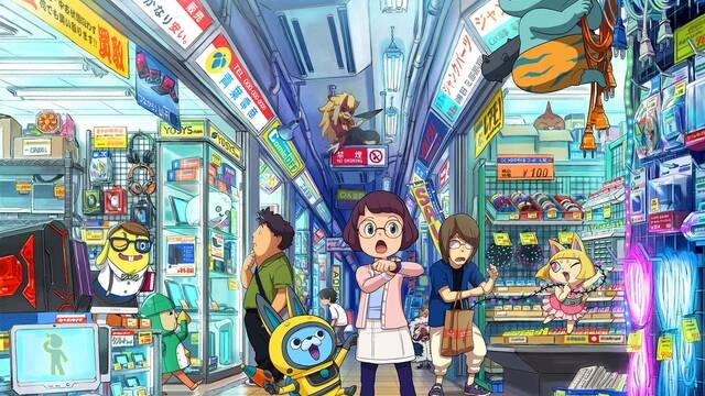 Yo-Kai Watch 3 llegará a Nintendo 3DS este invierno
