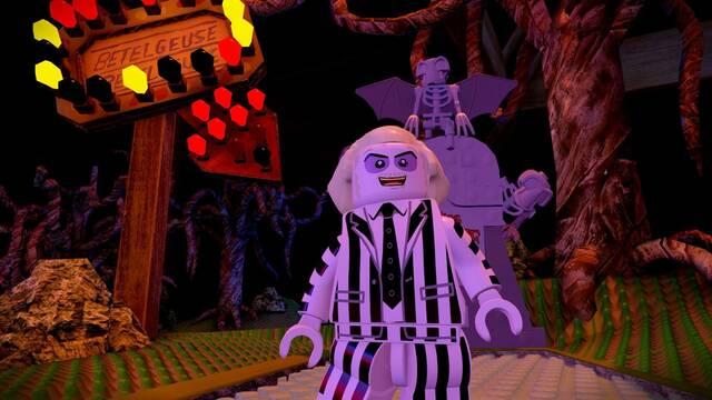 Beetlejuice muestra sus contenidos para LEGO Dimensions