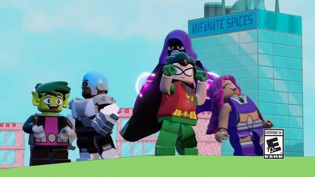 Así serán los contenidos de Teen Titans en LEGO Dimensions