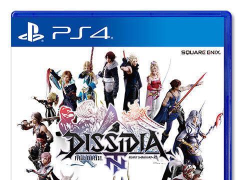 Mostrada la portada japonesa de Dissidia Final Fantasy NT