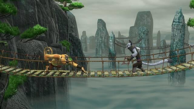 Primer vídeo de Kung Fu Panda: Confrontacion de Leyendas Legendarias