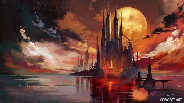 Bloodstained: Ritual of the Night nos muestra la primera ilustración de su castillo