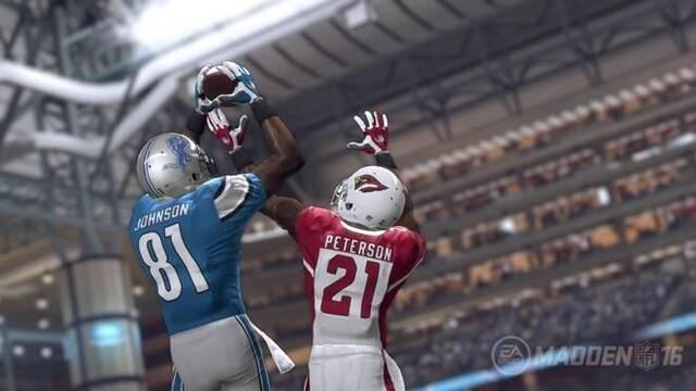 Madden NFL 16 se muestra en pantallas