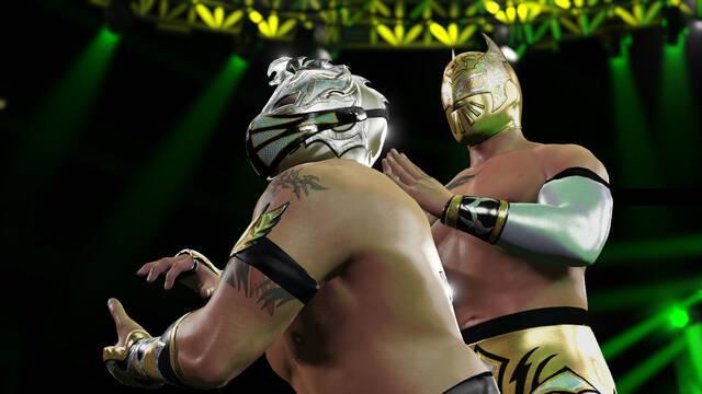 Primeras imágenes de WWE 2K16