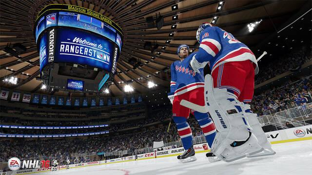 Nueva demostración de la jugabilidad de NHL 16