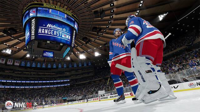 EA Sports presenta NHL 16