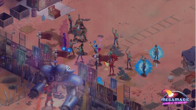 Megamagic: Wizards of the Neon Age llegará a Steam el 20 de abril