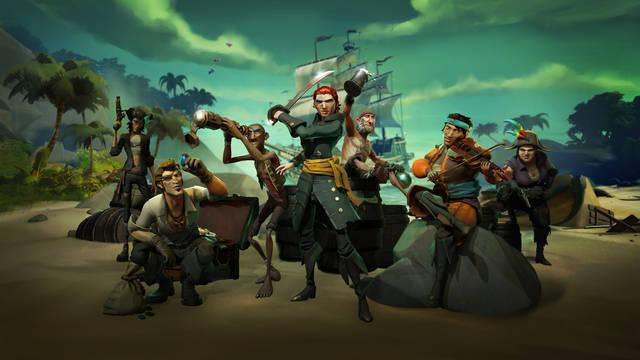 El lanzamiento de Sea of Thieves llega con packs para Xbox One