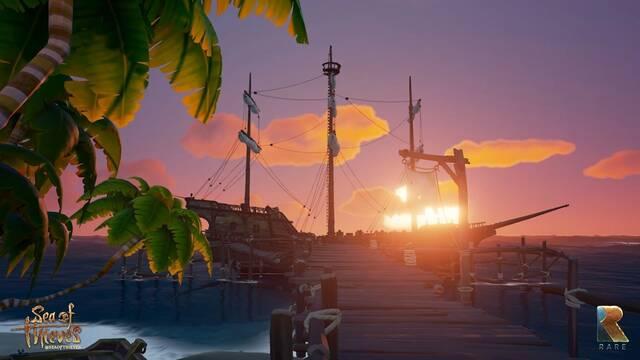 Sea of Thieves nos explica su tecnología y diseño en la creación de nubes para el juego