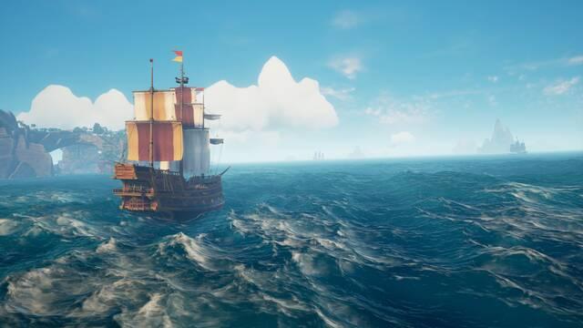Como navegar los barcos en Sea of Thieves - tutorial y consejos
