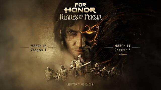 Prince of Persia llega hoy a For Honor con motivo de un evento especial.