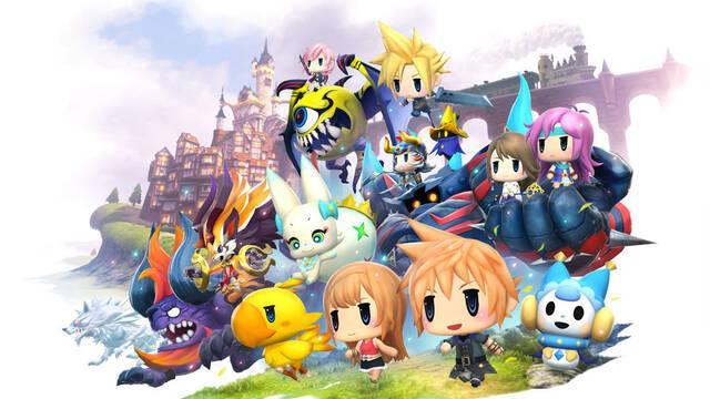 World of Final Fantasy llegará el 28 de octubre