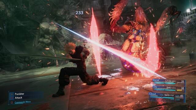 Final Fantasy VII Remake: Así será el modo de combate por turnos