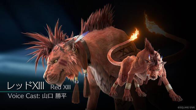 Red XIII en Final Fantasy VII Remake