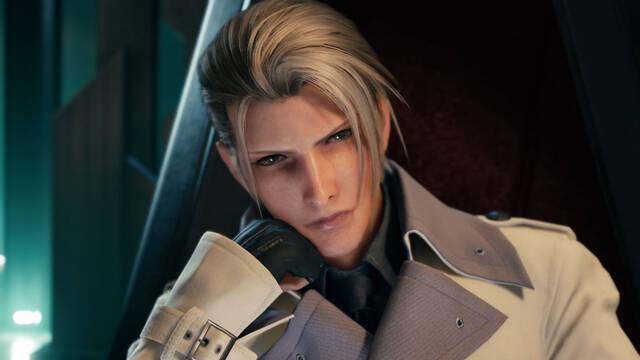 Final Fantasy VII Remake muestra personajes de Shinra.