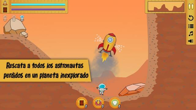 Rescue Lander llega a Android y pronto a iPhone