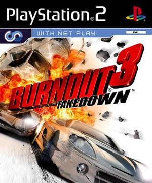 Portada de Burnout 3 PS2