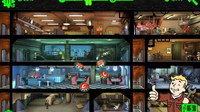 Fallout Shelter sobrepasa los 90 millones de dólares de beneficio en móviles