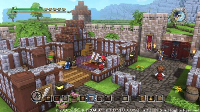 Dragon Quest Builder llegará el 14 de octubre