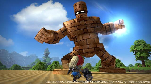 Square Enix muestra un nuevo continente de Dragon Quest Builders