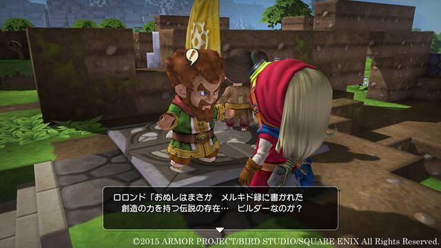 Dragon Quest Builders se muestra en un nuevo vídeo