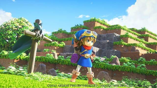 Ya disponible la demo gratuita de Dragon Quest Builders