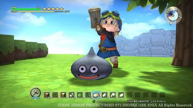 Dragon Quest Builders muestra sus anuncios de televisión