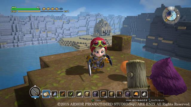 Dragon Quest Builders revela detalles sobre equipamiento y las batallas contra jefes