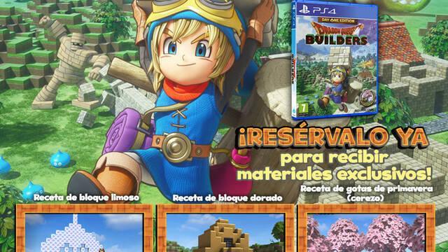 Nuevos detalles de la edición 'Day One' de Dragon Quest Builders