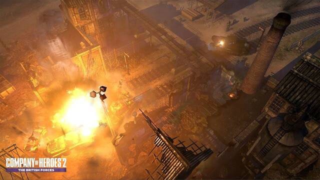 Primer diario de desarrollo de Company of Heroes 2: The British Forces