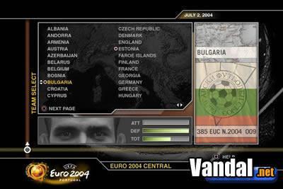 Nuevas imágenes de Euro 2004