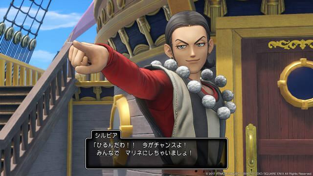 Dragon Quest XI muestra nuevas imágenes para PlayStation 4 y Nintendo 3DS