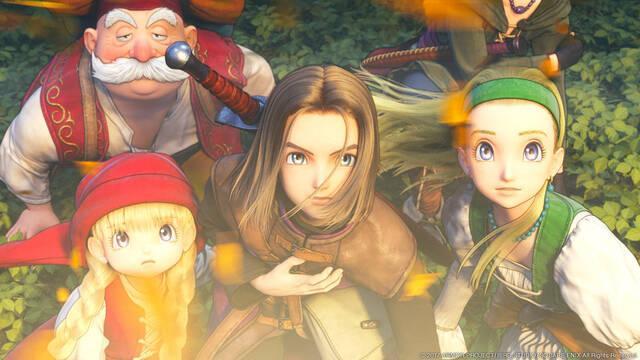 Dragon Quest XI se muestra en nuevo vídeo, imágenes y anuncios de TV