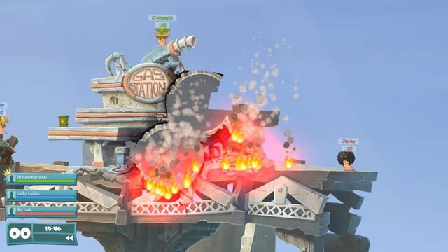 Worms WMD permitirá personalizar y crear armas